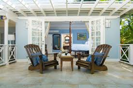 round table discovery bay sundown on the beach jamaica villa by linda smith