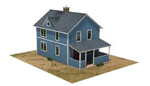 make house railroad model buildings scale houses 8 house models to make
