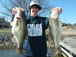 a guided bass fishing trip to any lake in alabama makes a great