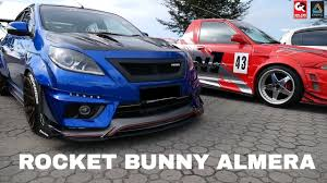 nissan almera rear bumper price nissan almera custom modified with rocket bunny kits youtube