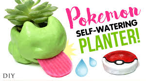 Self Watering Diy Self Watering Planter Inspired By Pokemon Go Testing Diy