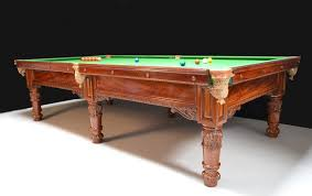 quarter size pool table an exceptional three quarter size antique billiard snooker table
