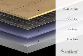 wooden floor heating lovely on floor for underfloor mats