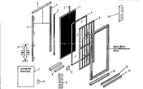 Stanley Patio Doors Homeofficedecoration Stanley Exterior Door Replacement Parts