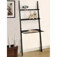 Pottery Barn Leaning Bookcase White Wooden Ladder Shelf Amiphi Info