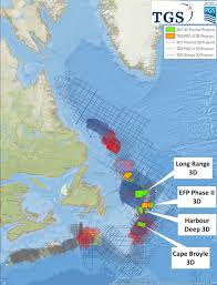 Eastern Canada Map by Pgs And Tgs Announce Fourth 3d Seismic Project Offshore Eastern