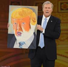 will ferrell reprises george w bush to mock trump daily mail online