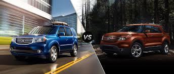 Ford Explorer Mpg - honda pilot vs 2014 ford explorer