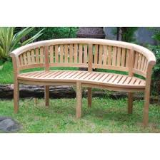 curved bench benches