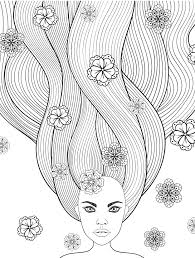 10 crazy hair coloring pages page 8 of 12 coloring