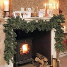 2014 new luxury 2 7m x 25cm thick mantel fireplace garland