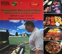 Backyard Grill Accessories by Backyard Chef Bake And Grill Master Bbq Grill Mat Baking Mat