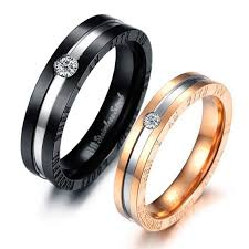 promise ring sets personalized matching promise rings for him and set of 2