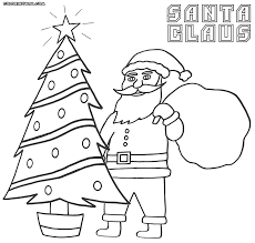 santa claus coloring pages coloring pages to download and print