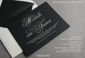 vera wang wedding invitations sweet paper