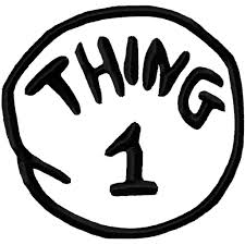thing 1 and thing 2 coloring pages to print virtren com