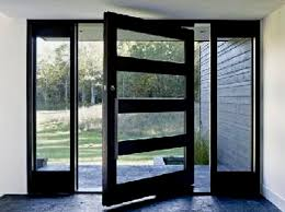 Exterior Steel Entry Doors With Glass Modern Exterior Front Doors Myfavoriteheadache