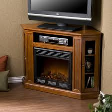 corner electric fireplace tv console fireplace design and ideas