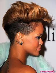 rihannas many great short hairstyles u2013 strayhair