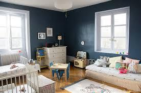 chambre bleu et deco chambre bleu et marron ides