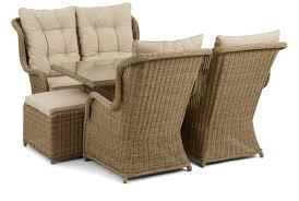 maze rattan winchester high back sofa dining set