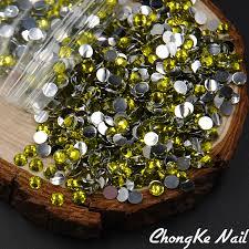 aliexpress com buy 2017 new nail rhinestone 2mm 6 5mm olivine