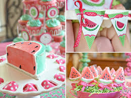 Mary Poppins Party Decorations Kara U0027s Party Ideas Watermelon Fruit Summer 1st Birthday Party
