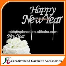 Cake Decorations For New Year by Happy New Year Cake Picks Anniversary Diamonte Cake Topper For New