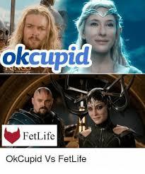 Ok Cupid Meme - fetlife okcupid vs fetlife okcupid meme on me me