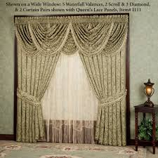 innovative curtains with waterfall valance 138 how to hang curtains with waterfall valance images about waterfall drapes jpg