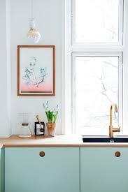 Ikea Kitchen Hack Ikea Kitchen Hack In Mint Green U2014 Decor8