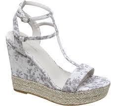 womens boots deichmann collection blue floral wedge sandals deichmann