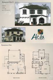 Floor Plan With Elevations by Floor Plans U0026 Elevations The Foothills At Carlsbad