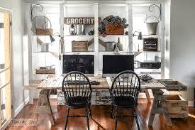 best cleaner for office desk a cleaner whiter reclaimed wood office revealfunky junk interiors