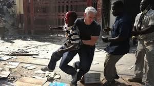 Anderson Cooper Meme - anderson cooper rescuing a boy from a gun fight after a slab of