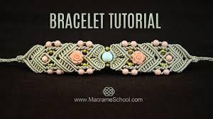 mirrored macramé bracelet tutorial by macrame macrame