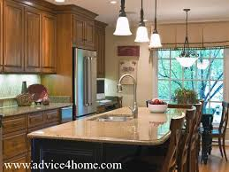Kitchen Marble Design by Cabinets Design And Cream Marble Countertops In Modern Kitchen