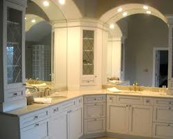 Kitchen Corner Linen Cabinet Houzz Regarding Stylish Home Cabinets - Incredible bathroom linen cabinets white home