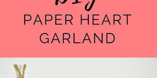 diy paper garland a simple tutorial for this pretty