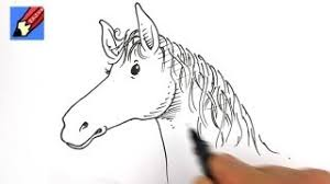 how to draw a horse u0027s head real easy youtube