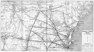 Map Of Portland Maine The Boston And Maine Railroad
