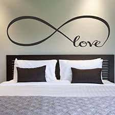 Wall Stickers For Kitchen by Amazon Com Wall Stickers Franterd Bedroom Decor Infinity Symbol