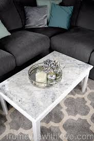 Marble Effect Coffee Tables Turn An Ordinary Coffee Table Into An Amazing Statement Piece
