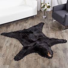 Brown And Black Rugs Black Bear Skin Rugs Bear Skin Rug Sale At Bear Skin World
