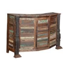 meuble cuisine bois recyclé bar en bois recyclé