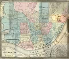 Ccm Campus Map Cincinnati Historical Maps University Of Cincinnati