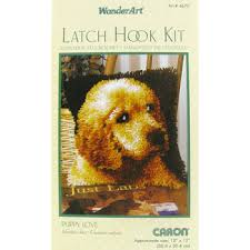Latch Hook Rugs For Sale Puppy Love Latch Hook Rug Kit Hobby Lobby 735787