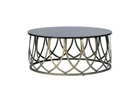 outdoor metal end tables round metal end table modern coffee tables base naily
