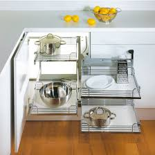 Kitchen Cabinet Corner Solutions For A Blind Cabinet Corner Hafele Corner Access Solutions Total