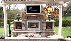 Outdoor Patio Fireplaces Outdoor Fireplace With Tv Fireplace Ideas